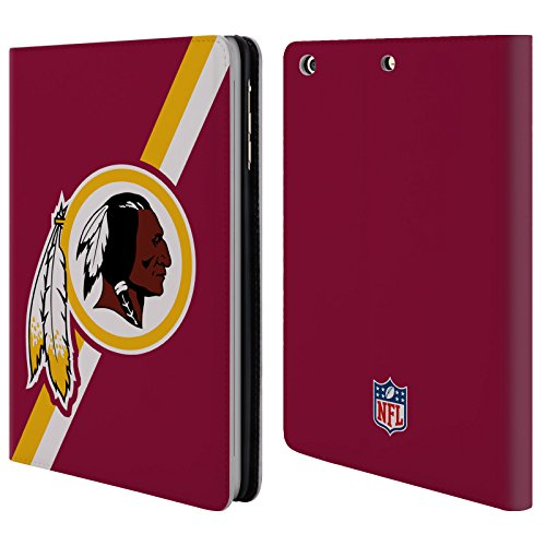 official-nfl-stripes-washington-redskins-logo-leather-book-wallet-case-cover-for-apple-ipad-mini-1-2
