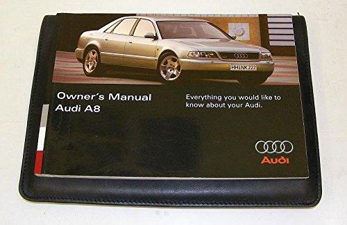 Audi A8 D2 Handbook + wallet 95 to 98