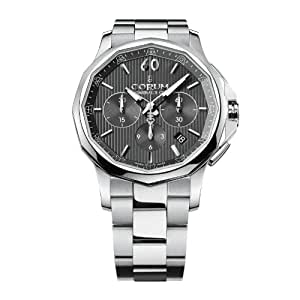 Corum Admiral´s Cup Legend 984.101.20/V705 AN10 42mm Automatic Silver Steel Bracelet & Case anti-reflective sapphire Men's Watch