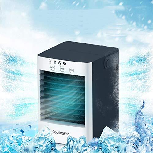 Mumuj USB Tragbare Luftkühler, Air Cooler Mobile Klimaanlage Mini-Klimaanlage Luftbefeuchter und Luftreiniger Tischventilator für Büro Camping zu Hause (Cooler Schreibtisch Spielzeug)