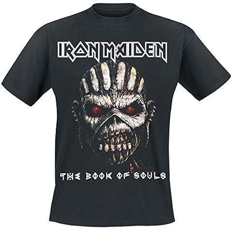 Iron Maiden The Book Of Souls T-shirt noir XXL