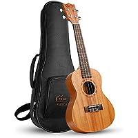 Ukelele,Hricane Ukeleles Concierto 23 Pulgadas Instrumento de Caoba, Ukulele Profesional para Principiantes