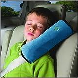 Leewin Cinturón de Asiento Almohadilla de hombro Almohada Reposacabezas de Coche Niños cervical almohada, almohada de viaje para dormir