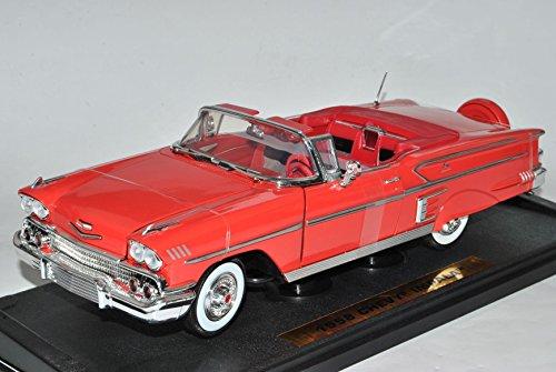 chevrolet-chevy-impala-cabrio-1958-rot-1-18-motormax-modell-auto