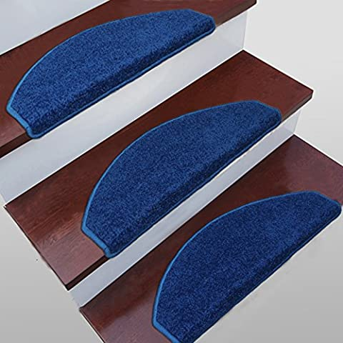 Rutschfeste Matte, Farbe, Blau Treppe Pad, Schritt rutschfeste Matte, Ecke langsam, 65*24*3, Blau Arc-Number: 5.
