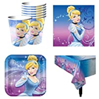 MyMasterpeaces Cinderella Party Pack for 16 Guests