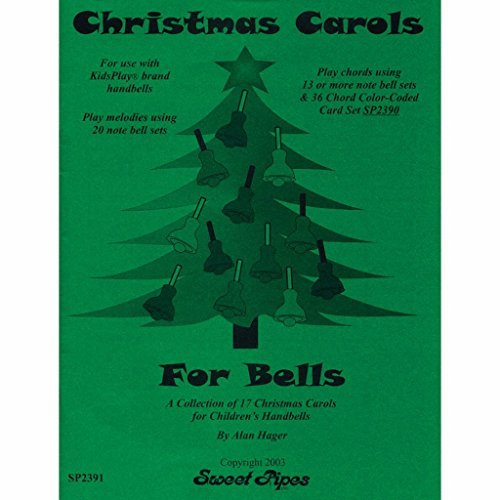 Hager Christmas Carols for Bells Song Book (17 Carols; All Ages)