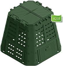 Schnellkomposter 420 - 880 Liter Gartenkomposter Thermokomposter Komposter Bio !