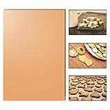 Backmatte 33 x 40cm wiederverwendbare hitzebeständiger Backpapier Ersatz mit Antihaftbeschichtung