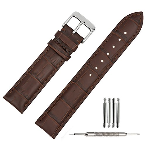 tstrap-21mm-leather-watch-strap-bracelet-w-watch-clasp-buckle-military-watch-band-for-men-brown