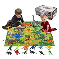 Bloomma Dinosaur Toys Mat 2019 Advent Calendar for Kids, Educational Toys with 24 Different Dinosaur Figurines Great Christmas Countdown Advent Calendars for Boys or Girls