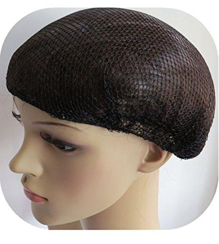 (10Stück) 50,8cm Heavy Gewicht Haarnetz Schwarz Latexfrei Elastic Edge Mesh 50cm