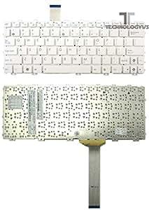 New ASUS EEE PC 1015PN 1015PN BLK046S-Clavier sans cadre Blanc mat
