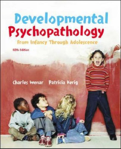 Developmental Psychopathology: WITH Letter