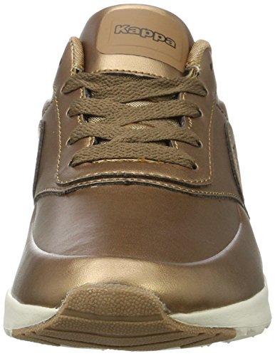 Kappa Milla Shine, Sneakers Basses Femme Marron (5643 Bronze/offwhite)
