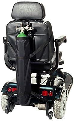 EZ-Access EZ0142BK Scooter Single Oxygen Tank Holder
