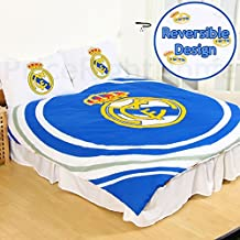 Real Madrid CF pulso doble funda de edredón y funda de almohada Set