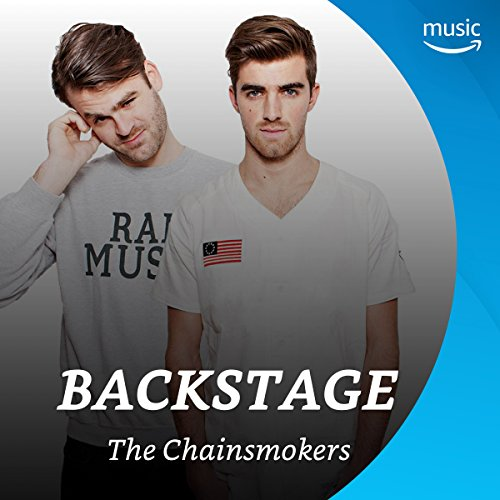 Backstage mit The Chainsmokers