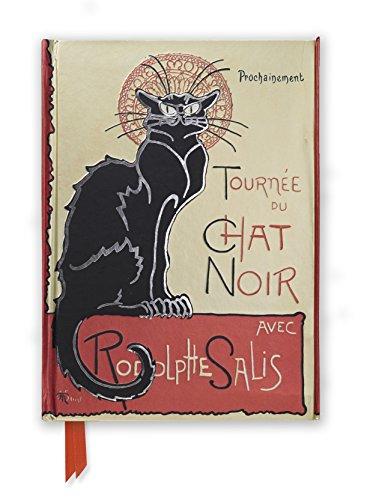 Steinlen: Tournee du Chat Noir (Foiled Journal) (Flame Tree Notebooks)