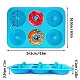 IHUIXINHE - Set di 2 stampi in silicone per muffin e muffin, a forma di girasole, per cupcake, gelatine e dolci