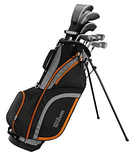 Wilson 2017 X31 High Launch Technology Mens Golf Package Set Graphite/Steel Right Hand (1 Inch Longer)