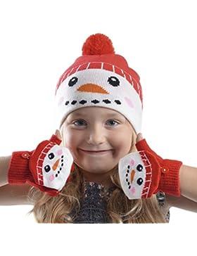 Rjm - Set de bufanda, gorro y guantes - Navidad - para niña