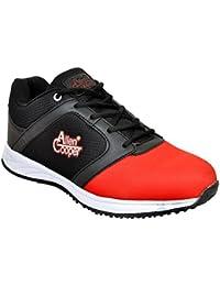 Allen Cooper ACSS-31 Black Red Sports Running Shoes For Men