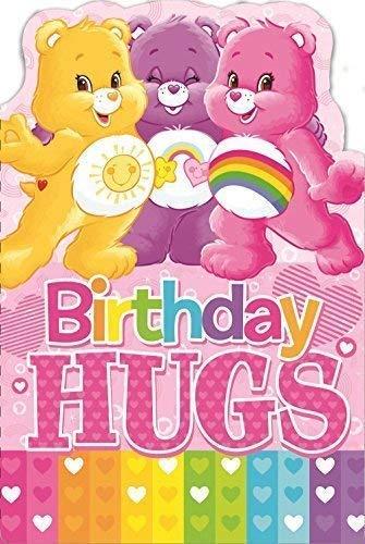 (CARE BEARS Geburtstag Umarmungen Geburtstagskarte)