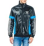 Adidas Chile 62 TT Track Top Jacke, Größe:S;Farbe:Schwarz/Weiß/Blau