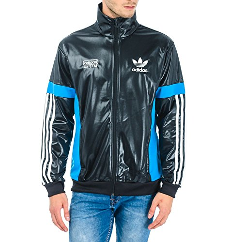 Adidas Chile 62 TT Track Top Jacke, Größe:M;Farbe:Schwarz