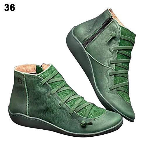 Go Go Stiefel Für Verkauf - Bouder Damen Stiefel, flacher Stiefel, Reißverschluss