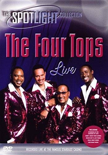 The Four Tops - Live in Las Vegas - Tops-live Four