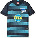 Nike Kinder Hertha BSC Breathe Stadium Away T-Shirt, Dark Obsidian/Chlorine Blue, XL