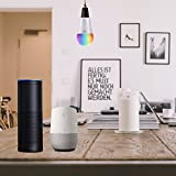 Smart Lampe, wlan Lampe E14, 810LM, 7w, dimmbare Wlan Glühbirne, Smart Home Lampe steuerbar via APP; Wifi Birne kompatibel mit Google Home Amazon Alexa(Echo, Echo Dot) für Sprachsteruerung. - 6