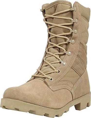 Stiefel Tactical aus Wildleder mit Cordura® Größe 6/40