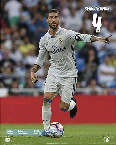 Grupo Erik Editores MPGE0168 Real Madrid Sergio Ramos Acción – Mini poster 2016/2017