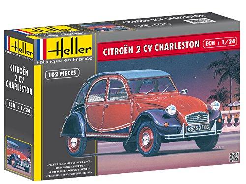 Heller 80766 Modellbausatz Citroen 2CV Charleston