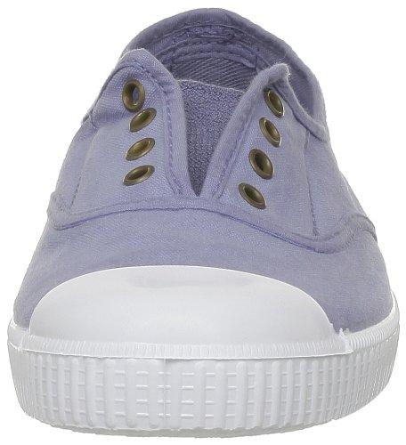 Victoria Ingles Elastico Tenido Punt, Baskets mode femme Bleu (36 Azul)