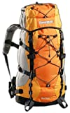 Black Canyon, Zaino da trekking Rucksack Outdoorund Aspensport Borneo, Arancione (orange), 55 l