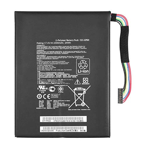 BPX Laptop Battery Li-Polymer C21-EP101 (24Wh 3300mAh 7.4V) for ASUS Eee Pad Transformer TF101 TR101 C21EP101
