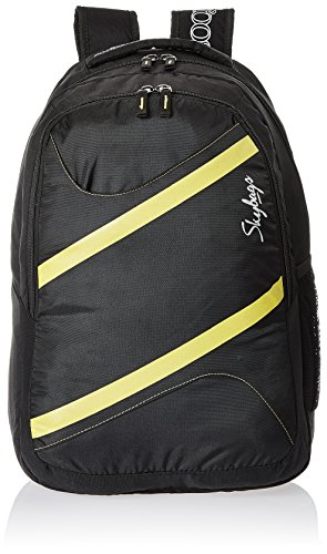 Skybags Router 26 Ltrs Black Casual Backpack (LPBPROU2BLK)