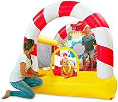 Plum Play Uk Candy Bouncer Inflateable With Pump,