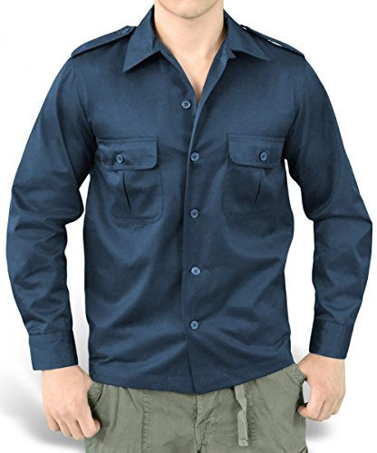 Surplus - Chemise casual - Homme Navy (06-3584)