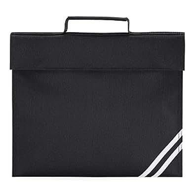 Quadra classic book bag in black