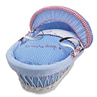 Izziwotnot Wicker Moses Basket