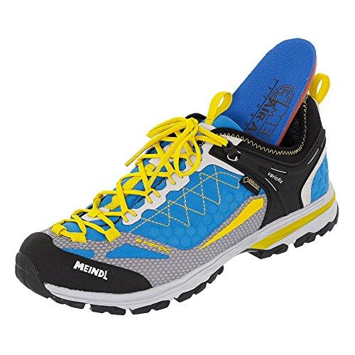 Meindl Chaussures de randonnée pour homme bleu/jaune