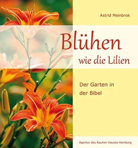 Blühen wie die Lilien: Der Garten in der Bibel von Astrid Meinbrok (Mai 2014) Gebundene Ausgabe Mais Lilie