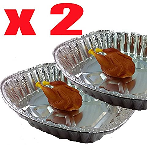 Disposable Foil Turkey/Meat Roasting Tray 17