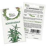 OwnGrown Premium Bohnenkraut Samen aus Deutschland (Satureja hortensis), Bohnenkrautsamen mehrjährig, Saatgut für rund 500x Bohnenkraut Pflanze