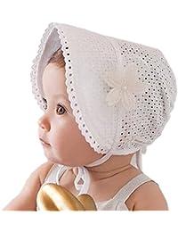SAMGU Casquettes Beau Mignon Princesse Enfants Enfant Fille Bébé Hat Beanie Floral New Lace pour 3-24 mois